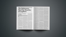 The Reformers Shed the Shackles of Legalism