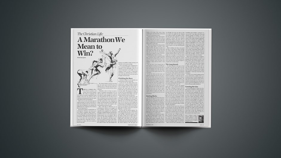 The Christian Life: A Marathon We Mean to Win?