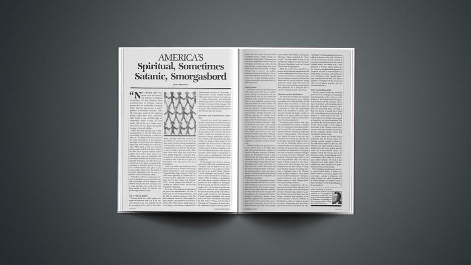 America's Spiritual, Sometimes Satanic, Smorgasbord