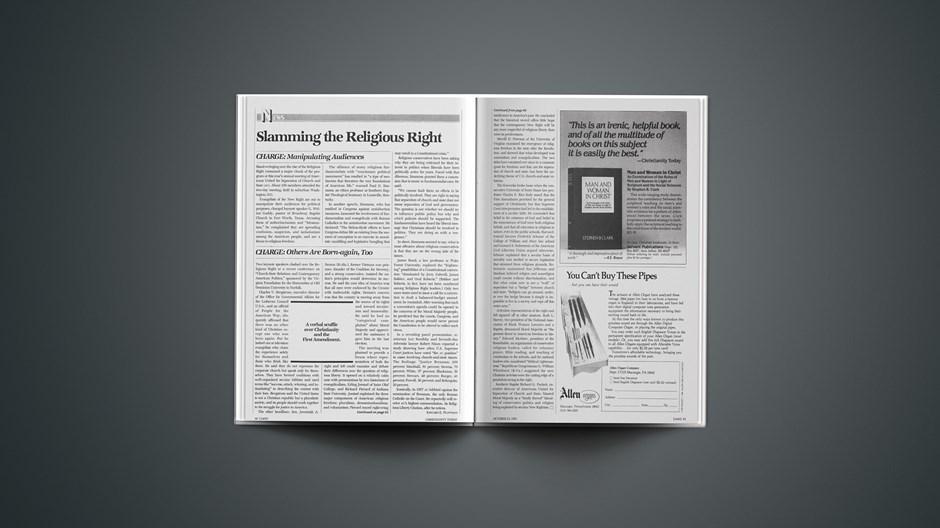 Slamming the Religious Right