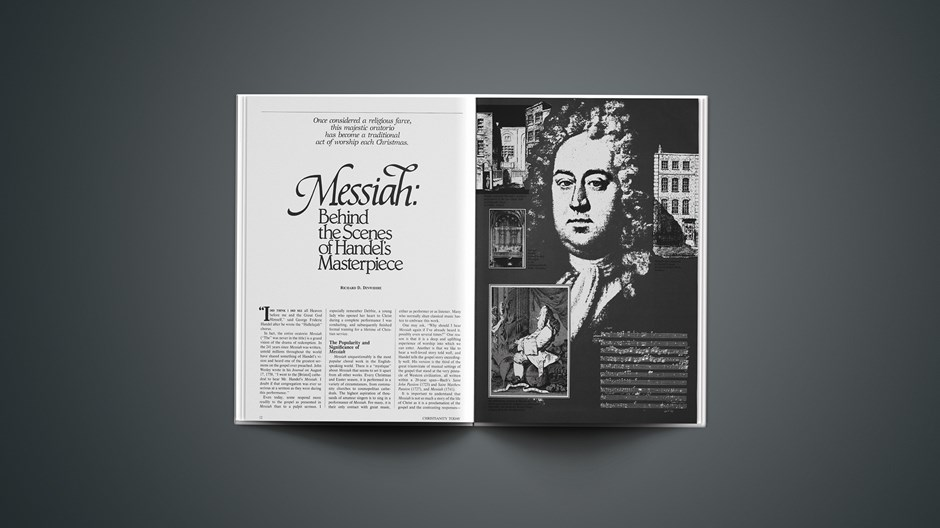 Messiah: Behind the Scences of Handl's Masterpiece