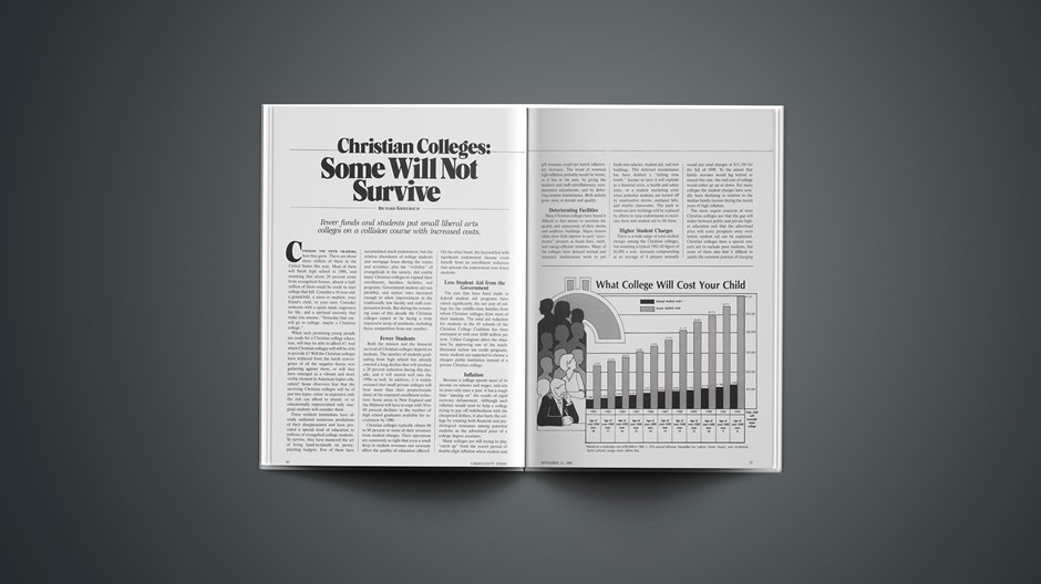 Christian Colleges: Some Will Not Survive