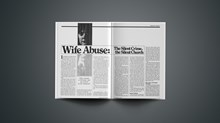 Wife Abuse: The Silent Crime, the Silent Church