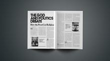 The God and Politics Debate: How the Press Got Religion