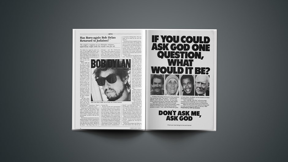 Has Born-again Bob Dylan Returned to Judaism?