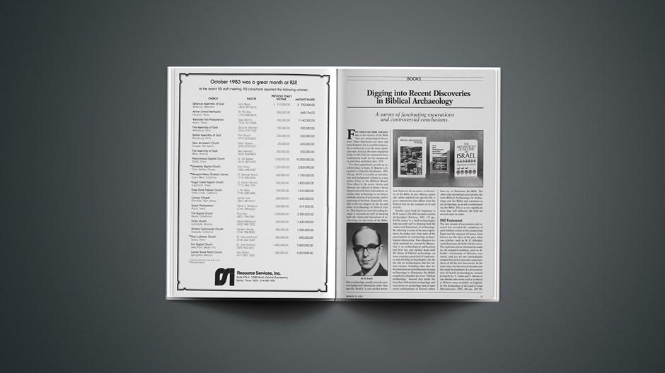 Book Briefs: March 16, 1984