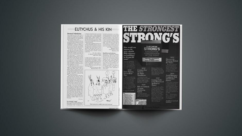 Eutychus and His Kin: November 23, 1984