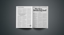 Why Keep Bothering God?