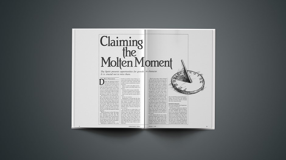 Claiming the Molten Moment