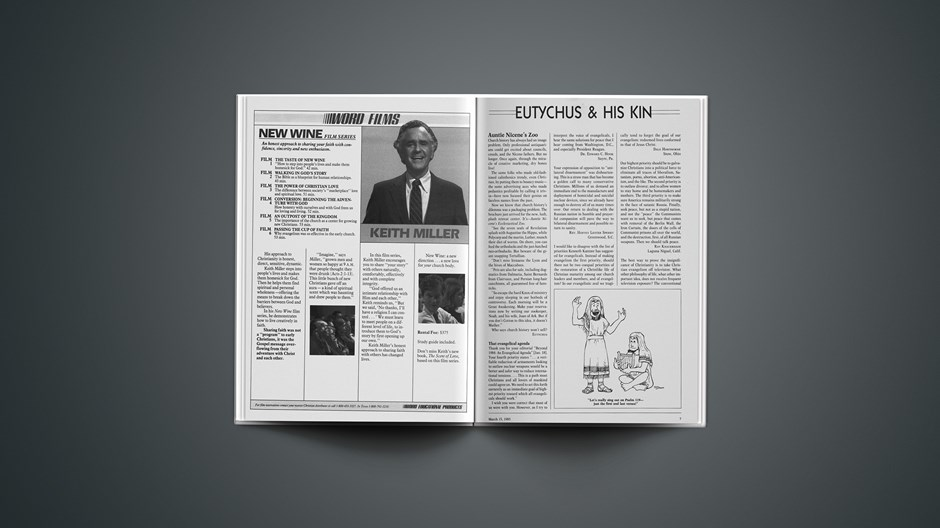 Eutychus and His Kin: March 15, 1985