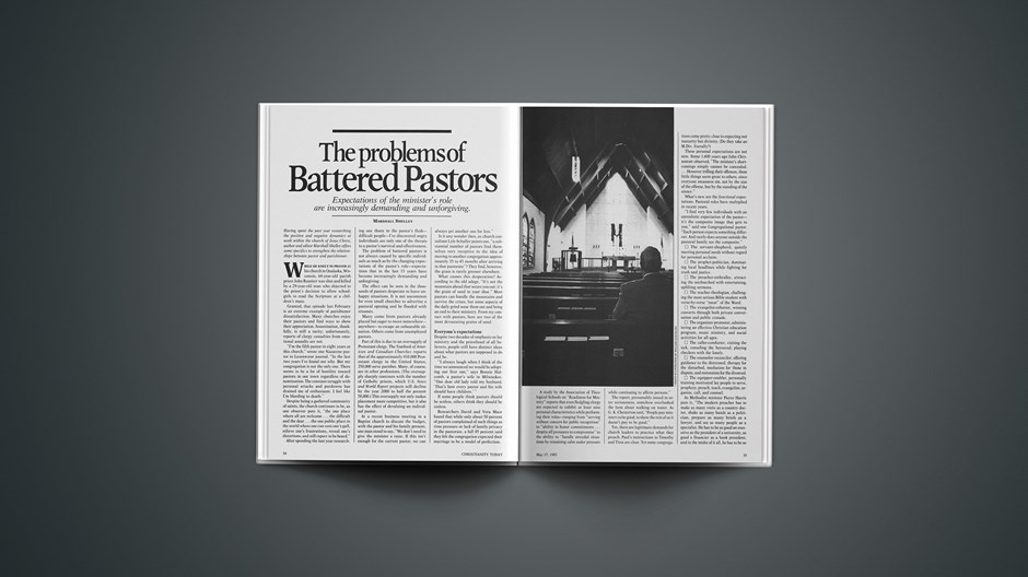 The Problems of Battered Pastors