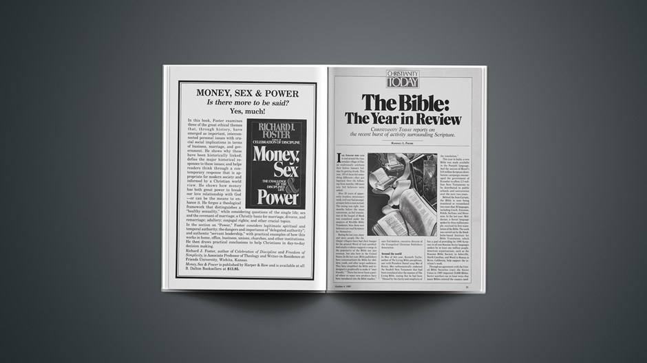 The Bible: The Year in Review