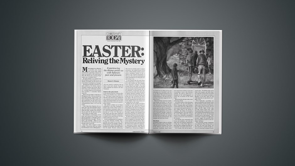 Easter: Reliving the Mystery