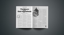 The Return of the God-Hypothesis