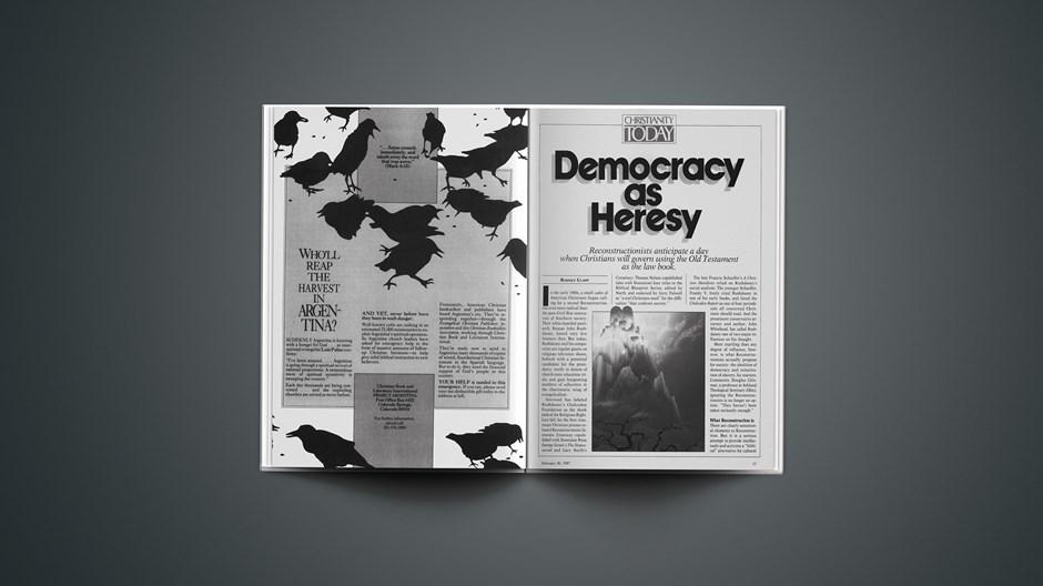 Democracy as Heresy