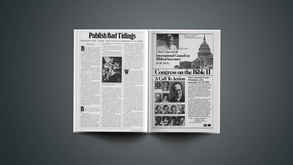 Publish Bad Tidings