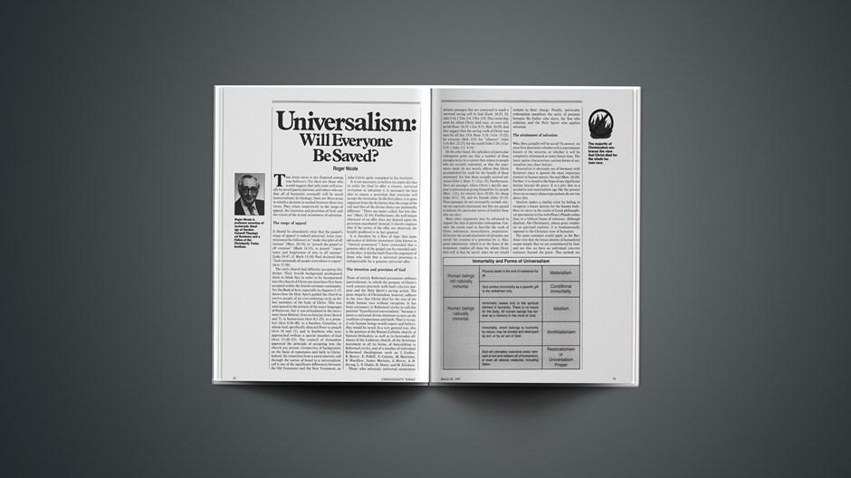 Universalism: Will Everyone Be Saved?
