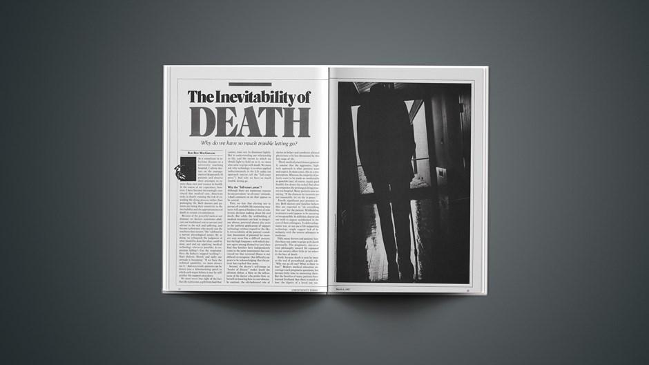 The Inevitability of Death