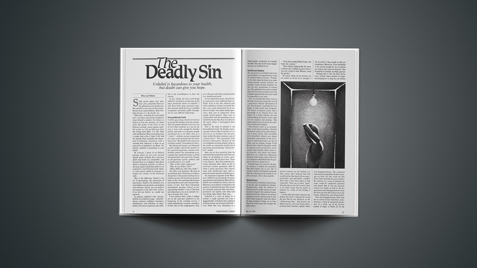 The Deadly Sin