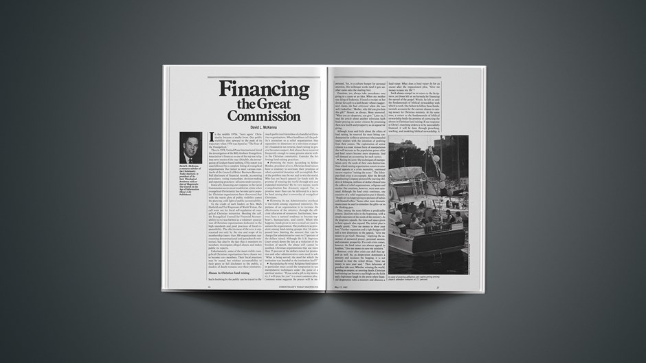 Financing the Great Commission