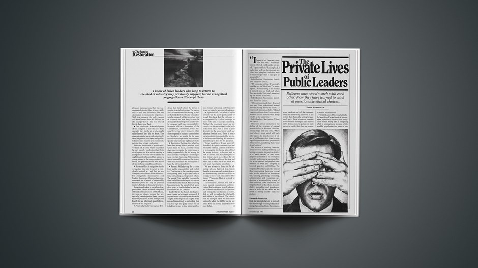 The Private Lives of Public Leaders