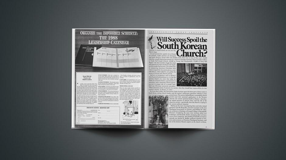 Will Success Spoil the South Korean Church?