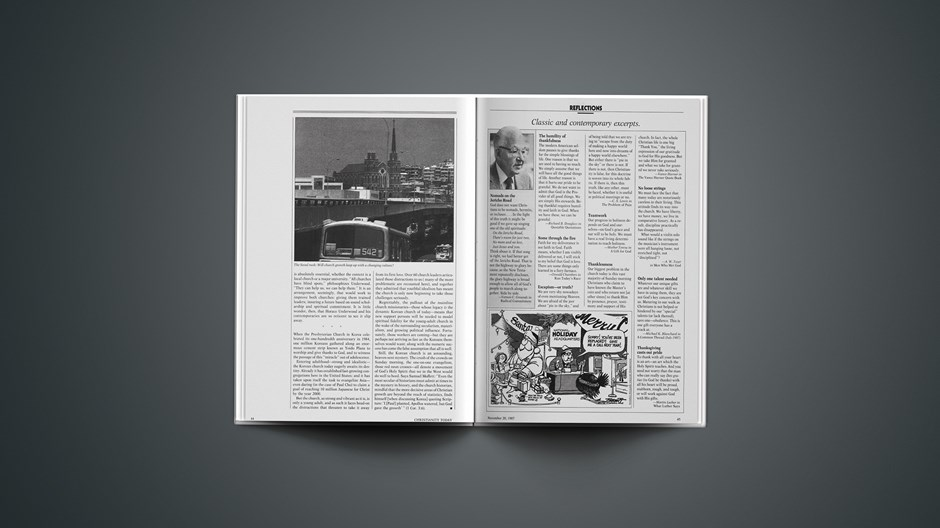 Classic & Contemporary Excerpts from November 20, 1987