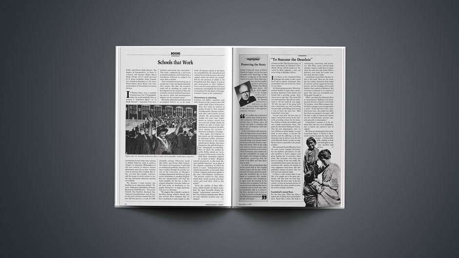 Book Briefs: November 6, 1987