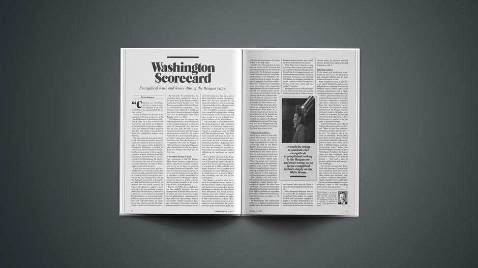 Washington Scorecard