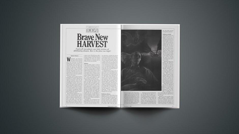 Brave New Harvest