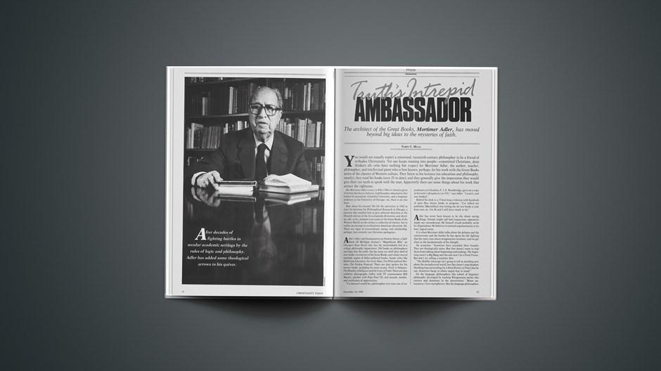 Truth's Intrepid Ambassador