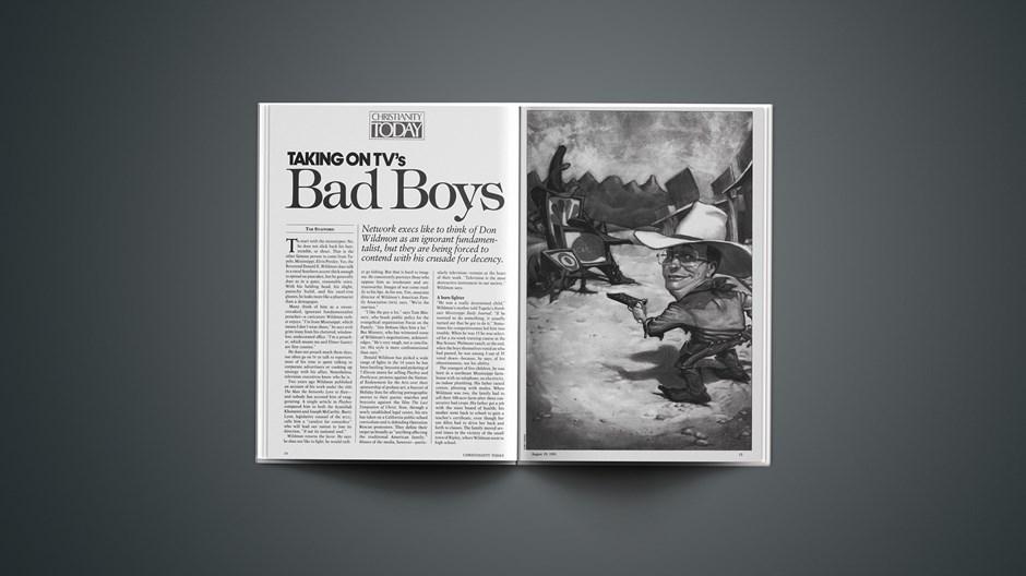 Taking on TV's Bad Boys