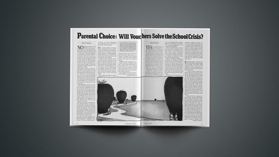 Parental Choice: Will Vouchers Solve the School Crisis?