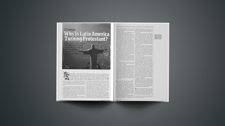 CT Institute: Why Is Latin America Turning Protestant?