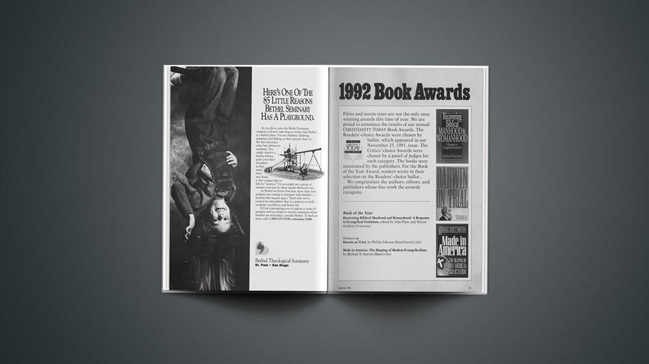 1992 Book Awards