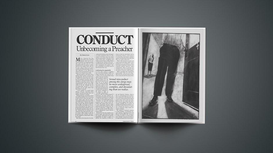 Conduct: Unbecoming a Preacher