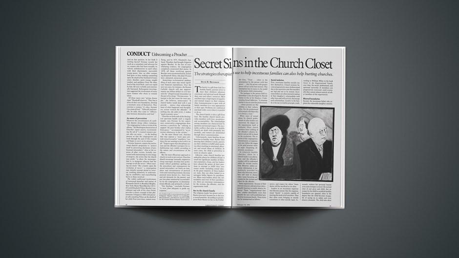 Secret Sins in the Church Closet