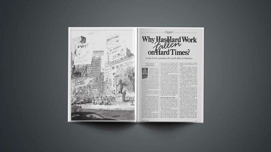 Why Has Hard Work Fallen on Hard Times?