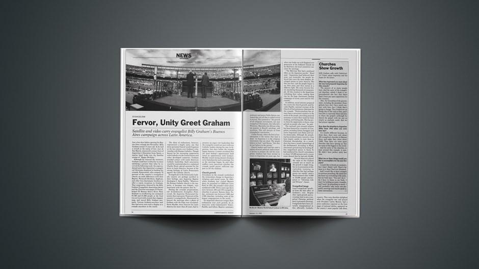 Evangelism: Fervor, Unity Greet Graham