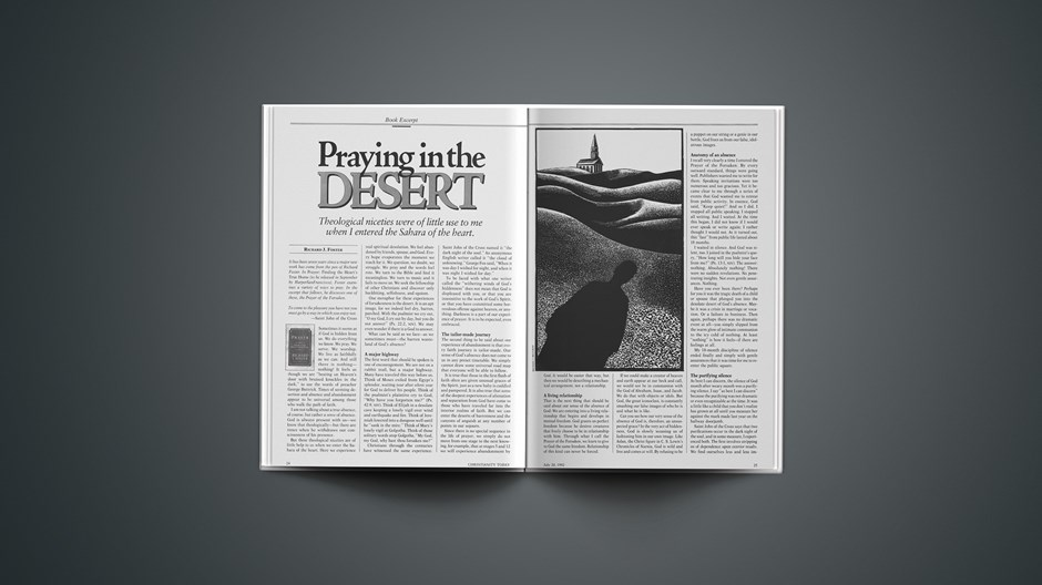 Praying in the Desert