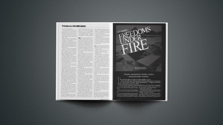 CT Institute: Freedoms under Fire