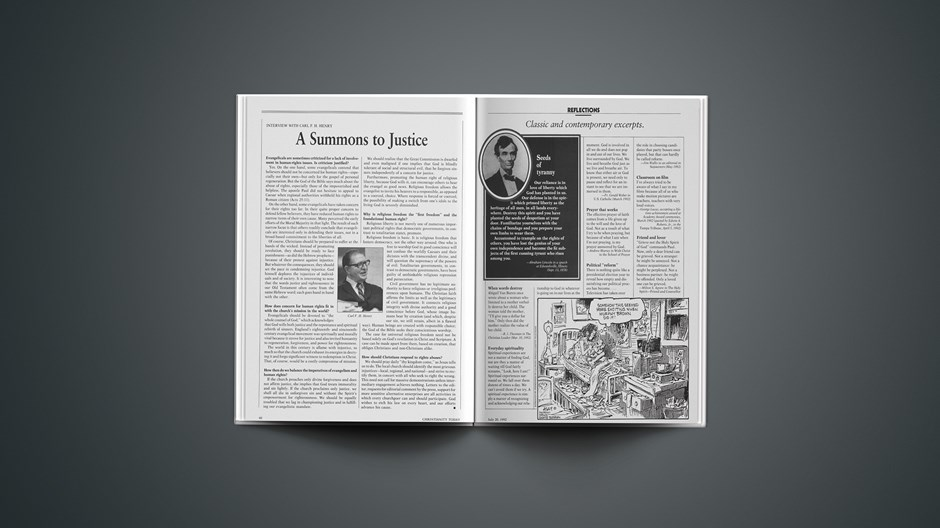 Classic & Contemporary Excerpts from July 20, 1992