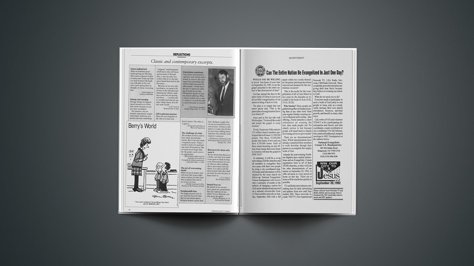 Classic & Contemporary Excerpts from June 22, 1992