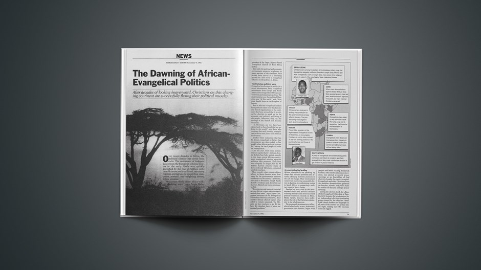 The Dawning of African-Evangelical Politics