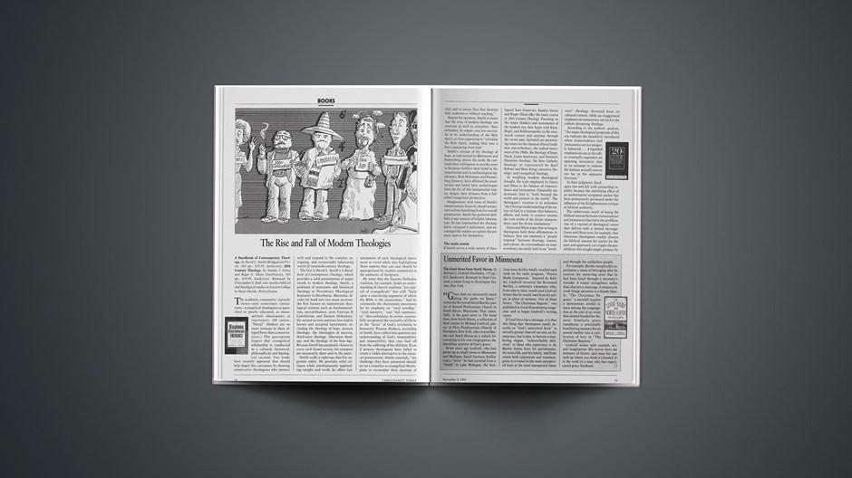 Book Briefs: November 9, 1992