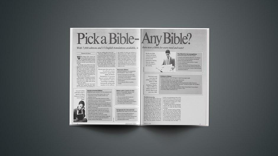 Pick a Bible—Any Bible?