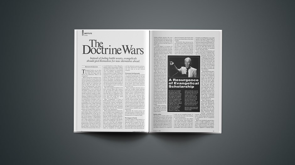 The Doctrine Wars