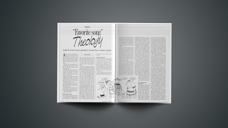"""""""Favorite-Song"""" Theology"""