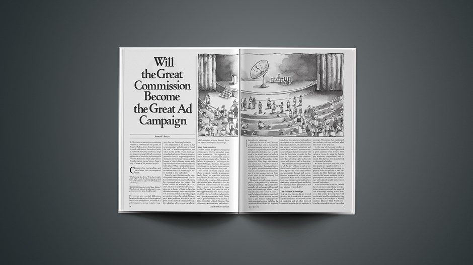 Will the Great Commission Become the Great Ad Campaign