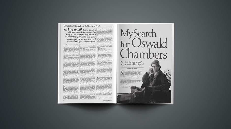 My Search for Oswald Chambers